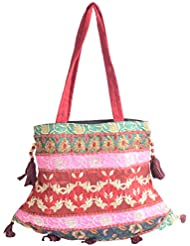 Holi Fashion Women's Sling Bag (Multi Coloured)