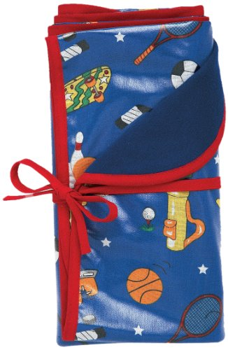 AM PM Kids! Sunday Reversible Blanket, Sports