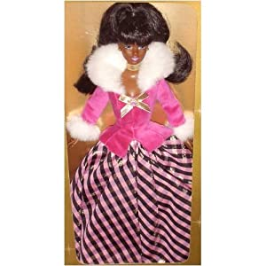 Winter Rhapsody African American Barbie Avon Special Edition by Mattel