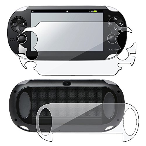 Eforcity® Full Body Reusable Screen Protector Compatible With Sony Playstation Vita Pch-1000 (Ps Vita)