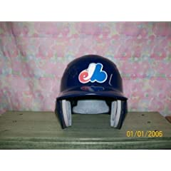 Delino Deshields Signed Montreal Expos F s 2 Flap Batting Helmet - Autographed MLB...