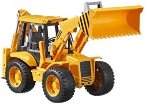Toy / Game Bruder Toys Loader Backhoe With Realistic Details And Functions - Great For Use Indoors And Outdoors