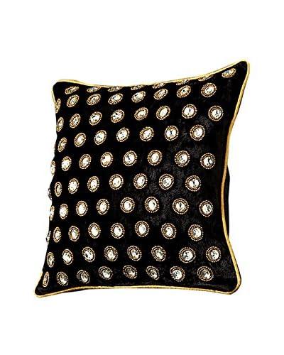 Sage & Co. Velvet Dot Embellished 12 Square Pillow