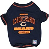 Pets First NFL Chicago Bears T-Shirt, Small