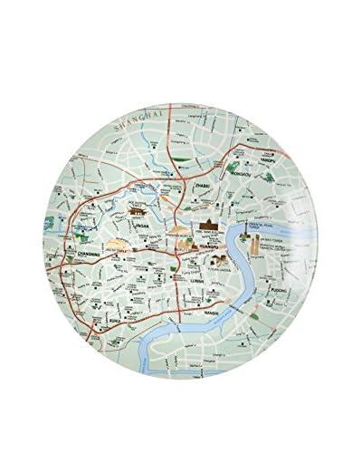 Seletti The World Dinnerware Shanghai Map Plate