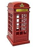 Vintage London Telefonzelle entworfen LED Lampe Touch Sensor Tisch Schreibtisch Nachtlicht für Schlafzimmer Studenten Wohnheim Beleuchtung Home Bar Dekoration Neuheit Geburtstag einstellbare Helligkeit Aufladen über USB