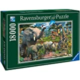 "Ravensburger 17823 - David Penfound ""At the waterhole"" - 18000 Teile Puzzle (276x192 cm)"