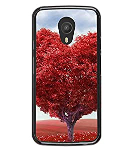 Red Heart Tree 2D Hard Polycarbonate Designer Back Case Cover for Meizu M2 Note :: Meizu Blue Charm Note2