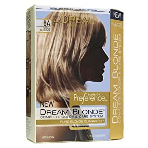 Loreal Dream Blonde Complete Hair Color System - #8A Sparkling Lotus