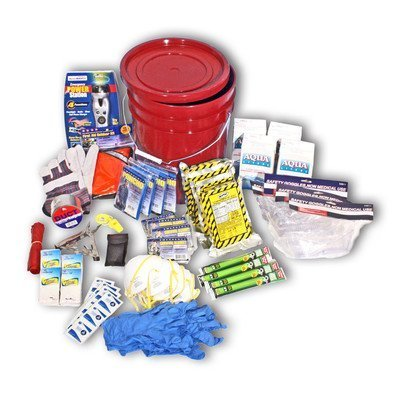 Ready-America-70395-Deluxe-Emergency-Bucket-Kit-for-4-Persons-by-Ready-America