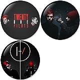 Twenty One Pilots : Blurryface Set 3 Pinback Buttons Badges/Pin 1.25 Inch (32mm) Set of 3 New