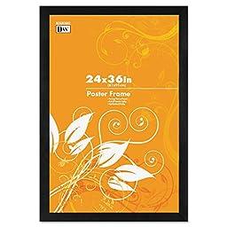 DAX Black Solid Wood Poster Frames