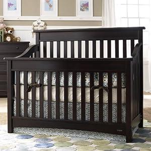 Amazon Bonavita Peyton Lifestyle Crib Espresso Baby