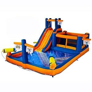 Buy Blast Zone Pirate Bay Inflatable Combo Water Park and Bounce by Blast Zone by Blast Zone