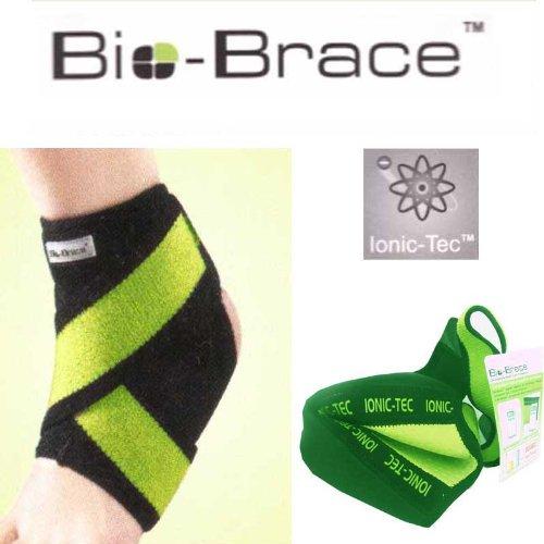 BIO-BRACE ® Supporto per Caviglia Taglia L - Doppia potenza di Ioni Negativi - Ionic-TecTM