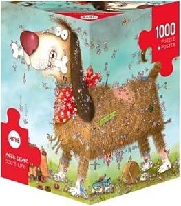 Divine Dog's Life Heye 1000 piece Puzzle --