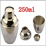 MECO(TM) 8oz 250ml Bartender Cocktail Martini Drink Shakers Mixer