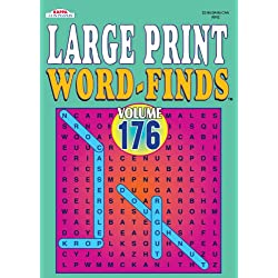 Large Print Word Find Puzzle Book-Vol.190