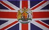 Prince William & Kate Middleton Royal Wedding Queens Crest Flag 5'x3'
