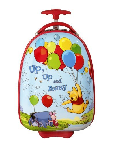 B0064DCMGM Disney Collection by Heys USA 18″ Winnie the Pooh Kids Carry on Luggage D237E Up Up and Away