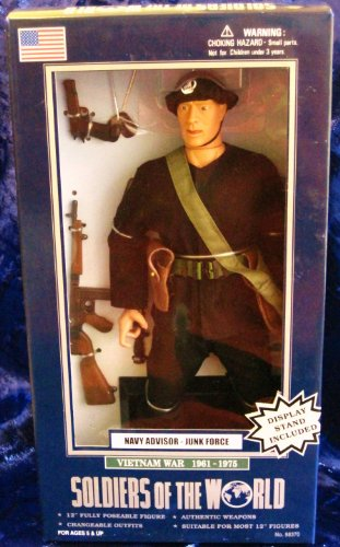 Buy Low Price Formative International Soldiers of the World Navy Advisor – Junk Force Vietnam War 1961-1975 12″ Action Figure (B000NP95TO)