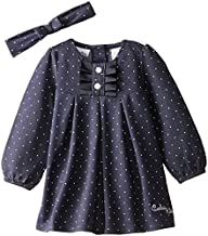 Calvin Klein Baby Girls' Denim Dress…