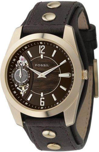FOSSIL (フォッシル) 腕時計 TWIST ブラウン & ウッド ME1062 メンズ [正規輸入品]