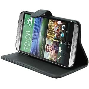 Bingsale Schutzhülle Ledertasche HTC One M8 (Modell 2014) Hülle Tasche