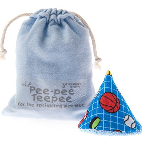 Sports Ball with Laundry Bag - Pee-pee Teepee for Sprinkling WeeWee - 1
