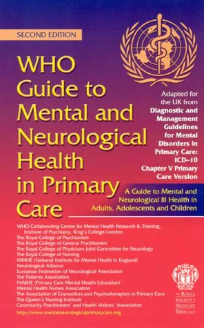 WHO Guide to Mental and Neurological Health in Primary Care