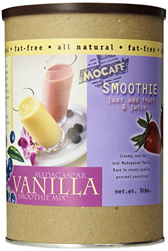 MOCAFE Madagascar Vanilla Smoothie Mix, 3-Pound Tin