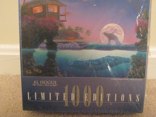 AL HOGUE LIMITED EDITIONS 1000 PIECE PUZZLE-REFUGE of LIFE II