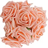 10pcs Classic White Purple Pink Lvory Beige Rose Flowers for Wedding Bridesmaid Bridal Bouquets Artificial