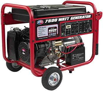 7,500-Watt Gasoline Powered Portable Generator
