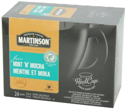 Martinson Joe'S Coffee, Mint N Mocha, 24 Count (Pack Of 4)