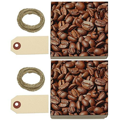 Coffee Beans Kraft Gift Boxes Set Of 2