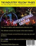 The Industry Yellow Pages, Volume 6: The Complete Major & Independent Record Label Music Business Directory, 2002-2003 International Edition