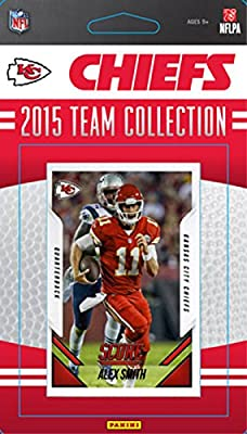 Kansas City Chiefs 2015 Score Factory Sealed NFL Football Complete Mint 13 Card Team Set Including Alex Smith, Jamaal Charles Plus