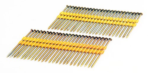 Freeman FR.131-3B 3-Inch by .131-Inch Plastic Collated Smooth Shank Framing Nail, 2000 Per Box