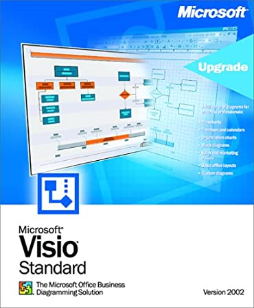 Microsoft Visio Standard 2002 Upgrade [Old Version]