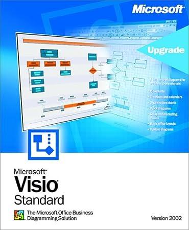 Microsoft Visio Standard 2002 Upgrade [Old Version]