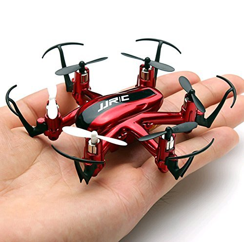 Arshiner-JJRC H20 Hexrcopter 2.4G 4 Canales 6 Axis Gyro Drone Rc Quadcopter 3D Modo sin Cabeza Rollover(Rojo)