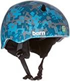 Bern Boy's Nino Zipmold with Black Fleece Helmet