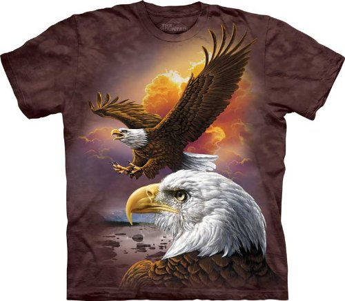 T-Shirt - Eagle & Clouds