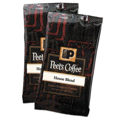 "Peet'S Coffee & Tea ""Coffee Portion Packs, House Blend, 2.5 Oz Frack Pack, 18/Box"" Unit Of Measure: Bx, Manufacturer Part Number: 504915"