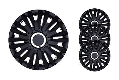 4 Set Radkappen Radzierlenden Radblenden 13 Zoll schwarz von Jawo-plast - Reifen Onlineshop