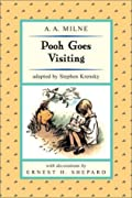 Pooh Goes Visiting (Puffin Easy-to-Read) (Easy-to-Read, Puffin) by A. A. Milne, Stephen Krensky cover image