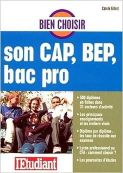 Bien choisir son cap bep bac pro 9782846246217 books - Bien choisir son videoprojecteur ...