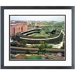 New York Giants Polo Grounds MLB Stadium Photo (Size: 22.5 x 26.5) Framed by MLB
