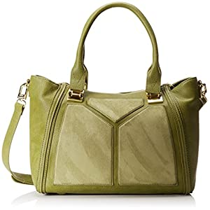 Steve Madden Bessiee Medium Satchel,Moss,One Size